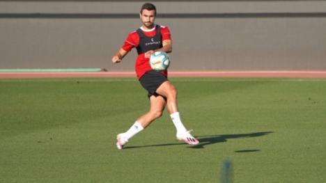 El Almería afina la puntería en vísperas del partido ante la UD Las Palmas