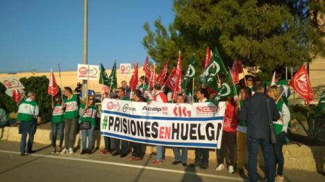 Huelga de funcionarios de prisiones en Almería
