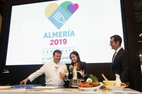 Andalucía arropa a Almería en el Salón de Gourmets por la Capitalidad Gastronómica