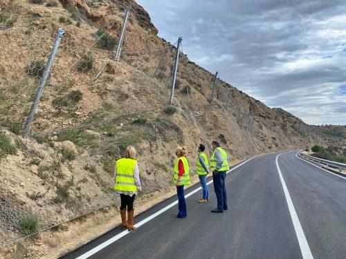 La Junta abre antes de lo previsto la carretera A-1075 de Alhabia
