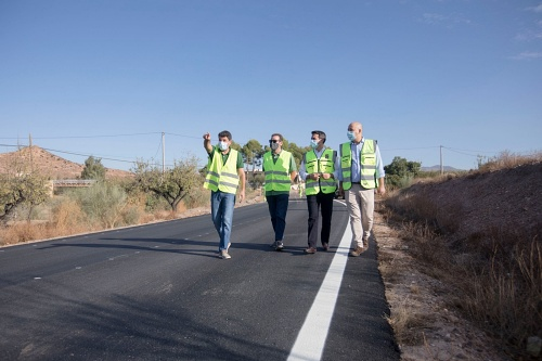 Diputación mejora la conexión entre Huércal-Overa y cuatro de sus pedanías