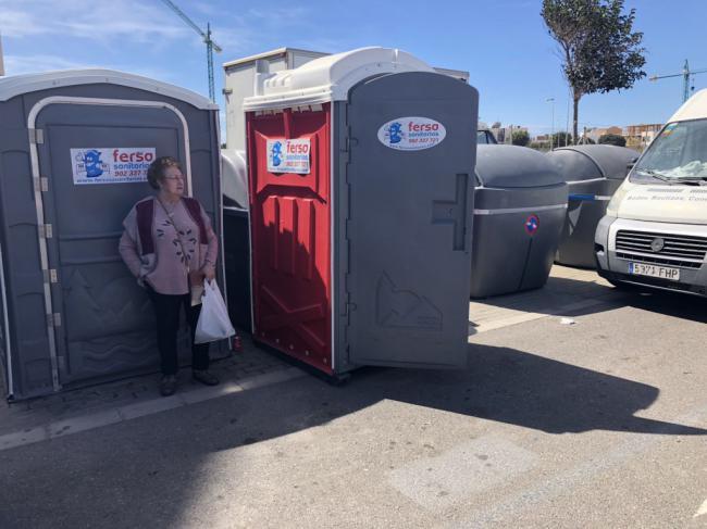 El Ayuntamiento licita el nuevo contrato de aseos portátiles para mercadillos