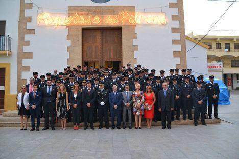 La Policía Local de Roquetas celebra el Día de los Ángeles Custodios