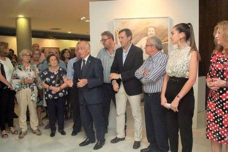 53 artistas rinde homenaje a Juan Ibáñez en Roquetas