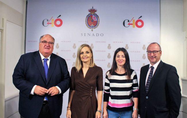 Senadores del PP avisan que el clima puede dejar a Almería sin ayudas por pobreza energética