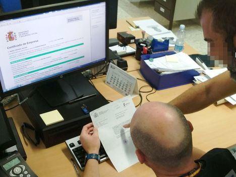 Dos empresas de Roquetas defraudan 206.000 euros a la Seguridad Social