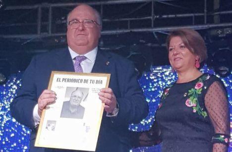 """Eugenio Gónzálvez pregona las fiestas de su """"querido Gádor"""""""