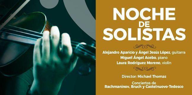La 'Noche de los solistas' abre este domingo la nueva temporada de la OCAL