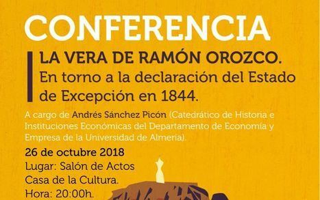 La Vera de Ramón Orozco. En torno a la declaración de excepción en 1844