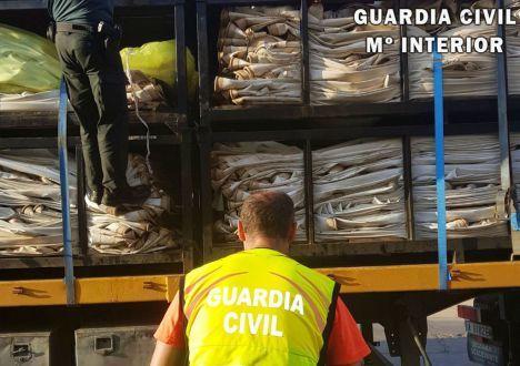 La Guardia Civil intercepta a 31 polizones en el Puerto de Almería desde enero