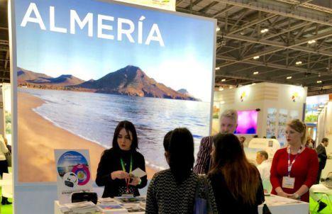 Turoperadores internacionales y OTA´S se interesan por 'Costa de Almería' en la World Travel Market