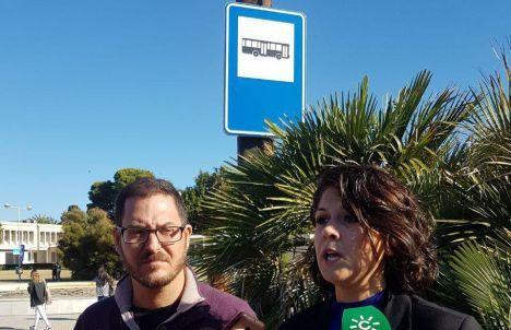 Adelante Andalucía llega a la Universidad, pero no en bus