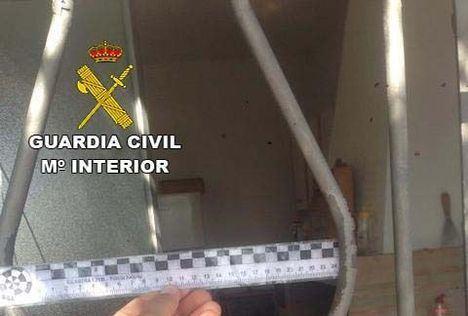 La Guardia Civil detiene a una persona por 8 robos en cortijos de Cuevas del Almanzora