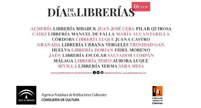 Bibabuk de Almería se suma al Día de las Librerías