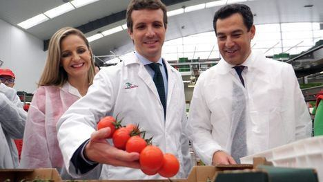 Moreno anuncia que Almería tendrá un centro de referencia agrícola y dice que el PSOE le ha