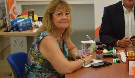 Mabel Hernández pasa este viernes al grupo de no adscitos tras dejar Ciudadanos