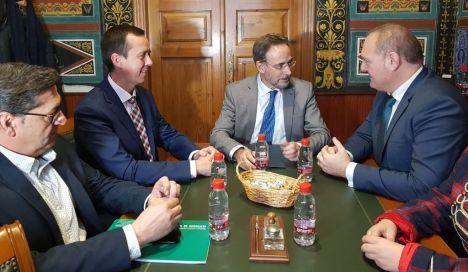 El consejero de Fomento visita la Autovía del Almanzora y la mejora de la Vera-Garrucha