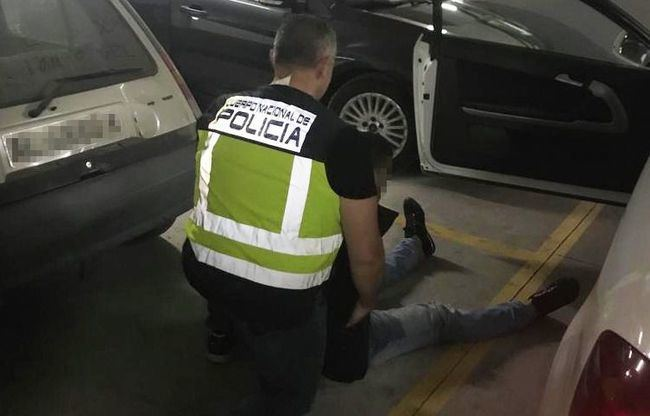 La Policía Nacional detiene a un fugitivo buscado por las autoridades italianas por tráfico de drogas