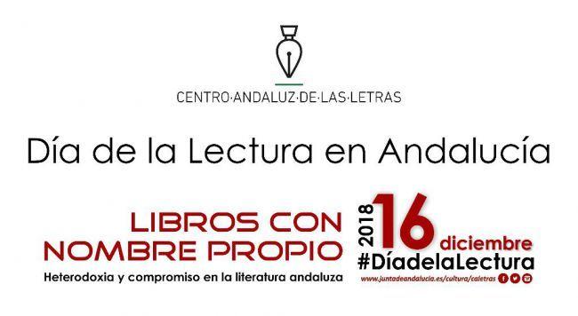 Agustín Gómez Arcos centra el Día de la Lectura en Almería