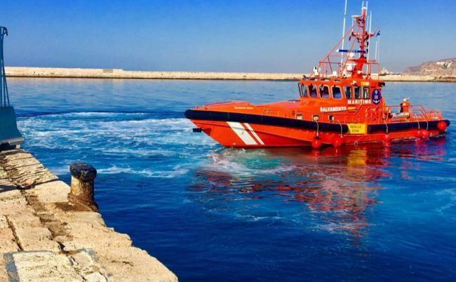 185 personas rescatadas este sábado por Salvamento Marítimo