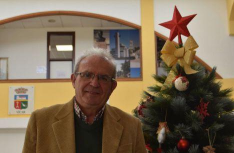 Antonio Bonilla enciende la Navidad en Vícar