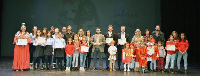 El colegio Nuestra Sra. de Fátima, Pedro Mena y La Suite del Sótano ganan el Certamen de Villancicos