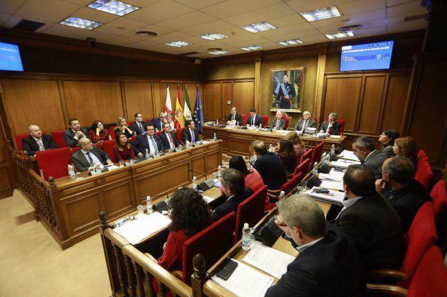Solo el PP aprueba el presupuesto más alto de Diputación