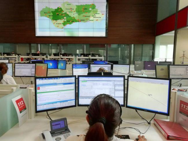 El 112 coordina 125 incidencias en Fin de Año en Almería