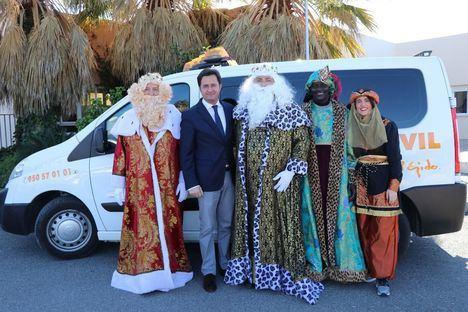 Triunfal Cabalgata de Reyes Magos en El Ejido