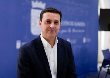 García Egea acude a la toma de posesión de Javier A. García como presidente de Diputación