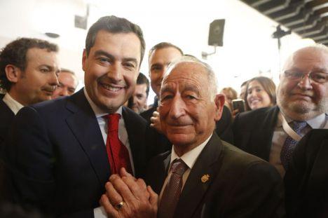 """Amat agradece a Moreno su """"compromiso"""" con Almería en el nuevo gobierno"""