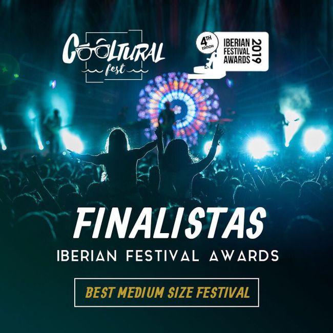 Cooltural Fest, finalista como 'mejor festival de mediano formato' en Iberian Festival Awards