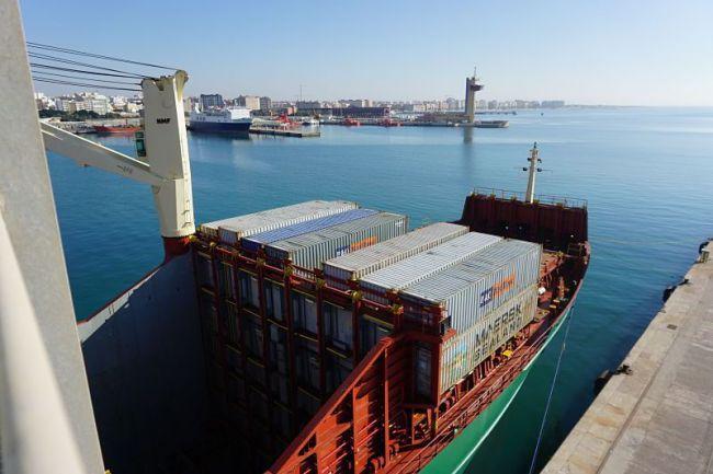 Almería exportó hasta noviembre 12.821 toneladas de productos agroalimentarios por barco