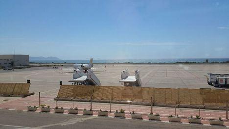 El Aeropuerto de Almería terminó enero con un alza del 12,6% en la cifra de pasajeros