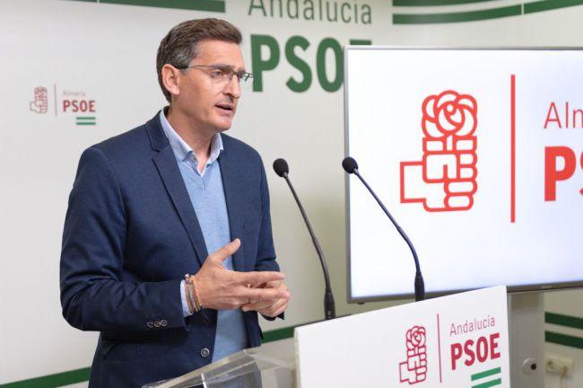 """El PSOE lamenta las """"desastrosas"""" consecuencias para los almerienses del rechazo a los PGE"""