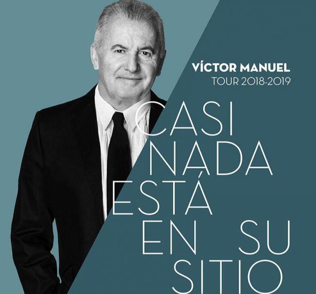 Víctor Manuel dará un concierto en Adra el 20 de abril