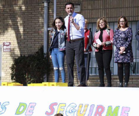 Diputación participa en los actos del 'Día Niño con Cáncer'