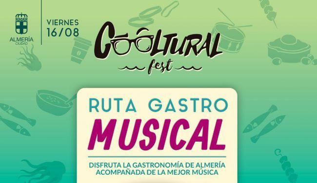 Cooltural Fest tendrá una ruta gastromusical y una carpa de dj's