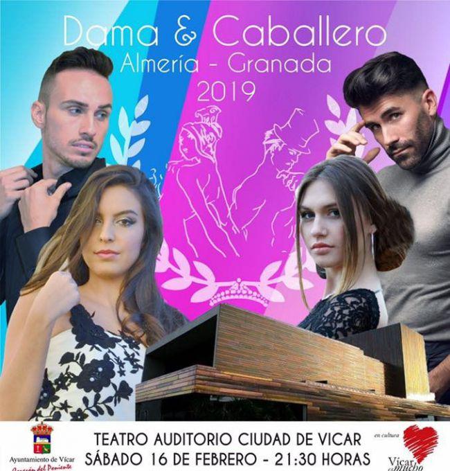 Veinte Aspirantes Al Título De Dama Y Caballero De Almería Y Granada 2019 En La Gala Final De Vícar