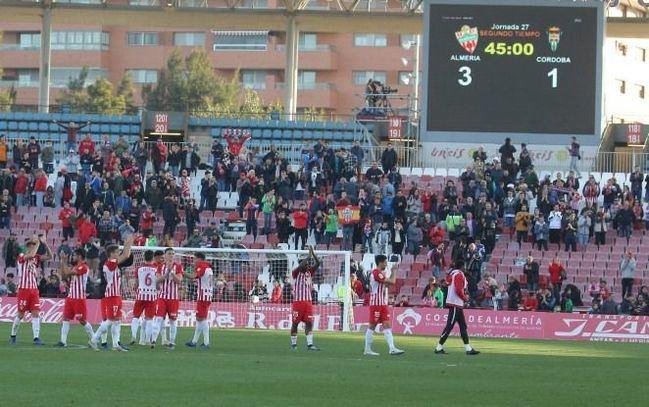 Marzo de vértigo para la UD Almería