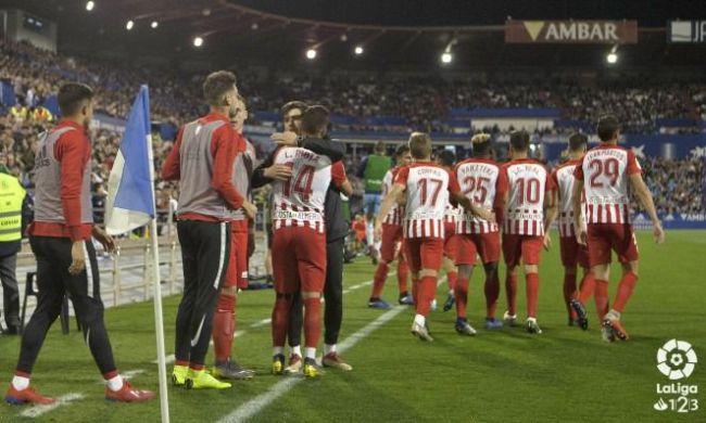 El Almería solo tiene una derrota en 15 jornadas