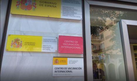 El Centro de Vacunación Internacional de Almería es el mejor valorado por los usuarios