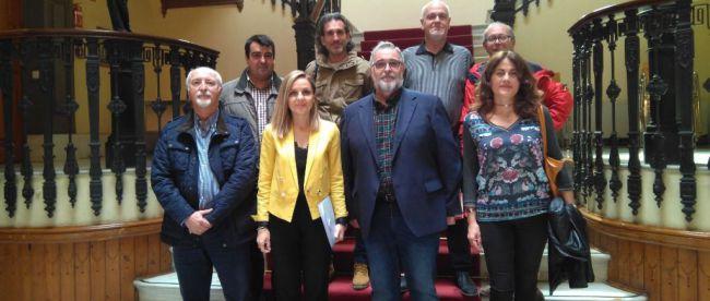 La delegada del Gobierno acompañará a la Mesa del Ferrocarril a Sevilla