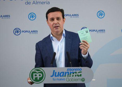 García seguirá al frente de la Diputación hasta las elecciones