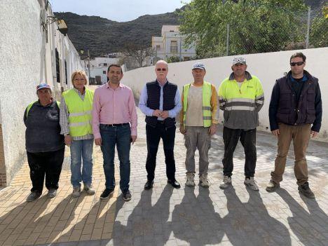 El PFEA invierte en embellecer Lucainena de las Torres más de 86.000 €