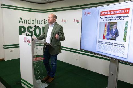 """Martínez: """"Salimos a ser el dique de contención de las derechas en Almería"""""""