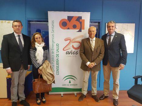 061 en Almería atendió a 4.278 pacientes en 2018