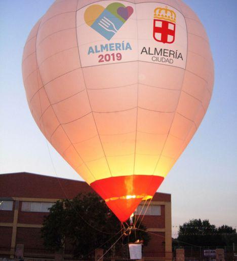 ¿Te atreves a sobrevolar Almería en globo aerostático gratis?