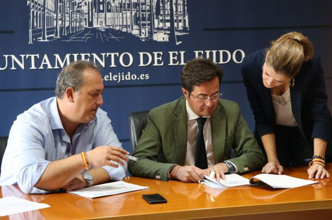 El alcalde de El Ejido realiza un balance de la Semana Santa