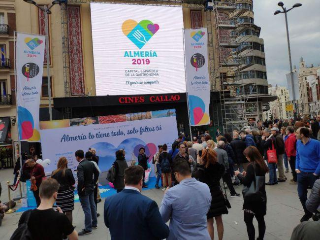 Almería 2019 se abre al mundo desde el corazón de la capital de España